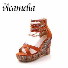 <b>Vicamelia</b> 2019 New Thin Heels Slippers Furry Women Shoes ...