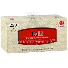 Купить <b>Салфетки бумажные Манеки</b> (<b>Maneki</b>) Kabi по низкой ...