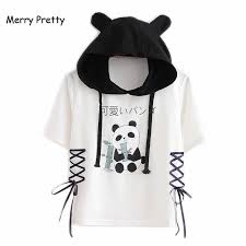 <b>Merry Pretty</b> t shirt <b>women harajuku</b> Japan style kawaii cat tshirt ...