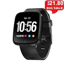 <b>V6 Smart Watch</b> Color Screen Smart Band Heart Rate Monitor ...