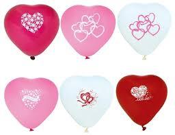 Купить Набор воздушных шаров <b>Action</b>! сердечки (10 шт ...