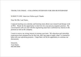 thank you email after interview 17 word excel pdf format followup thank you email after meeting pdf