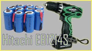 Восстановление аккумулятора <b>Hitachi</b> EB1214S. - YouTube
