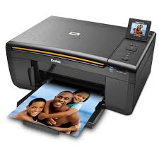 Inkjet Printer with curved path