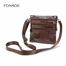 FONMOR <b>Genuine</b> Leather Men Briefcase Brand Luxury Cowhide ...