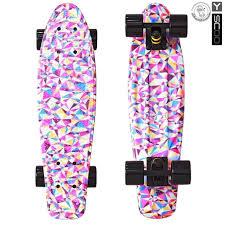 <b>Скейтборд Y</b>-<b>SCOO</b> Fishskateboard 22 дюйма - Rhombus - купить ...