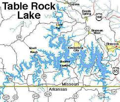 Image result for table rock lake
