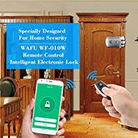 Festnight <b>Smart</b> Lock, HF-<b>010W WiFi Smart</b> Door Lock Tuya ...