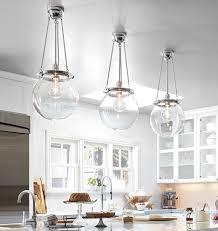 three globe chandeliers in kitchen chic lighting fixtures