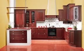 Red Tile Paint For Kitchens Interior Adorable Black Ceramic Tile Flooring Pictures Of Red