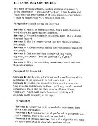 samples of informative essays