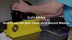 How to use the Spin Clean <b>Vinyl Record Washer</b> - YouTube