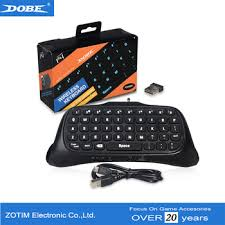 2.4G <b>Wireless</b> Backlight Keyboard For PS4 Controller TP4-822 ...