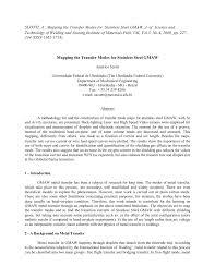 (PDF) Mapping transfer <b>modes</b> for <b>stainless steel</b> gas metal arc ...