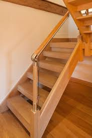 bespoke oak internal door bespoke oak glass staircase bespoke glass staircase