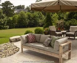 Pallet Outdoor Sofa  Pallet Garden Furniture For Sale  S