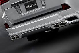Тюнинг Lexus LX 570 2015 Двойная <b>выхлопная система Double</b> ...