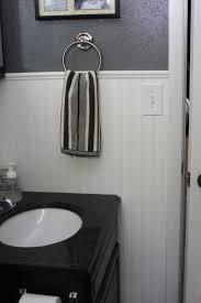 height bathroom chair rail