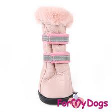 <b>Сапоги For MyDogs</b> зимние розовые купить по выгодной цене в ...