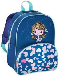 Рюкзак детский <b>Hama LOVELY GIRL</b> (<b>синий</b>)