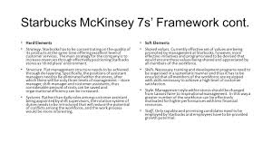 mckinsey s s the mckinsey s framework is a management model 9 starbucks