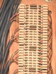 the cwp chapter 2 Telephone Terminal Block Wiring Diagram (click the photo on the left for a larger image) Old Telephone Wiring Diagrams