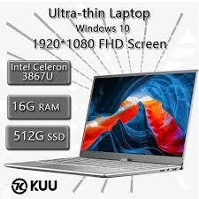 <b>KUU</b>-<b>A9 14.1 inch</b> Windows 10 Ultra-thin 1920*1080 FHD Screen ...
