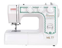 Электромеханическая <b>швейная машина Janome ML 77</b> ...