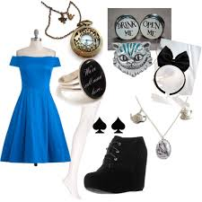 alice in wonderland inspired outfit polyvore alice in wonderland inspired furniture