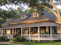Beautiful Country House Plans   Wraparound Porch Ideas   Modern    Image of  Country House Plans With Porches One Story
