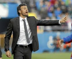 Image result for Barcelona boss Luis Enrique is picture