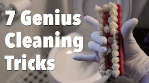 7 Genius Cleaning Tricks For Your <b>Bathroom</b> - YouTube