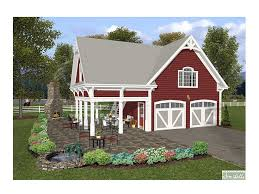 Carriage House Plans   bedroom Garage Apartment   G  at    Front View  G