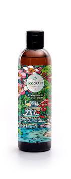 ecocraft шампунь для восстановления волос франжипани и марианская слива 250мл