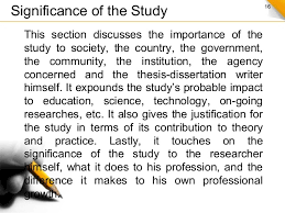 Dissertation research shows no significance   dailynewsreports        Dissertation research shows no significance