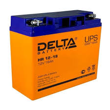 Аккумуляторная <b>батарея Delta HR 12-18</b> (12V / 18Ah)