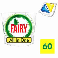 <b>Таблетки д</b>/<b>пмм Fairy</b> All in 1 60шт - купить с доставкой в ...