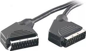 <b>Кабель Vivanco SCART-SCART</b>, <b>21</b> pin, 3.0 м, без упак. (19360 ...