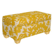 home decorators collection chatham upholstered storage bench in sun chatham home office decorator