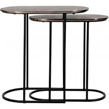 Chandon <b>side table set</b> of <b>2</b> oval | Richmond