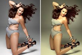 Image result for photoshop before and after celebrities