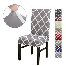 LiveGo <b>Chair Cover</b>, <b>6</b> Pack <b>Stretch</b> Dinin- Buy Online in Cambodia ...