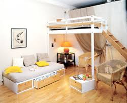 design ideas small spaces image details: lovely apartment design for small spaces  small space loft bedroom ideas