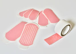 Dry <b>double</b>-<b>sided</b> tape for adhesion of wet tissues and devices ...
