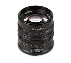 <b>7Artisans 55mm F1.4</b> Lens