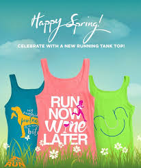 Happy <b>Spring</b>! Be ready for those warm <b>spring runs</b> - and of course ...