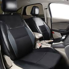 <b>Car pass</b> Universal 2 Front Car Seat Cover Covers Interior ...