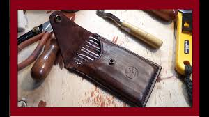 Handmade <b>Leather</b> Pick case. Чехол для <b>инструмента</b> своими ...
