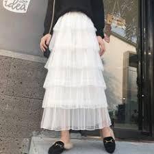 <b>Korean streetwear maxi skirt</b> spring women clothes 2019 harajuku ...