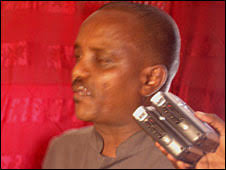 Abdirahman Ahmed - also known as Waldiire. (Photo courtesy of www.dayniile. Abdirahman Ahmed was a prominent politician in Kismayo - _45383109_dayniile226